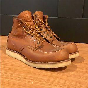 "Redwing Men's Classic 6"" Mock Toe Boots"
